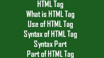Learn Html || Html tag || Basic Html Course