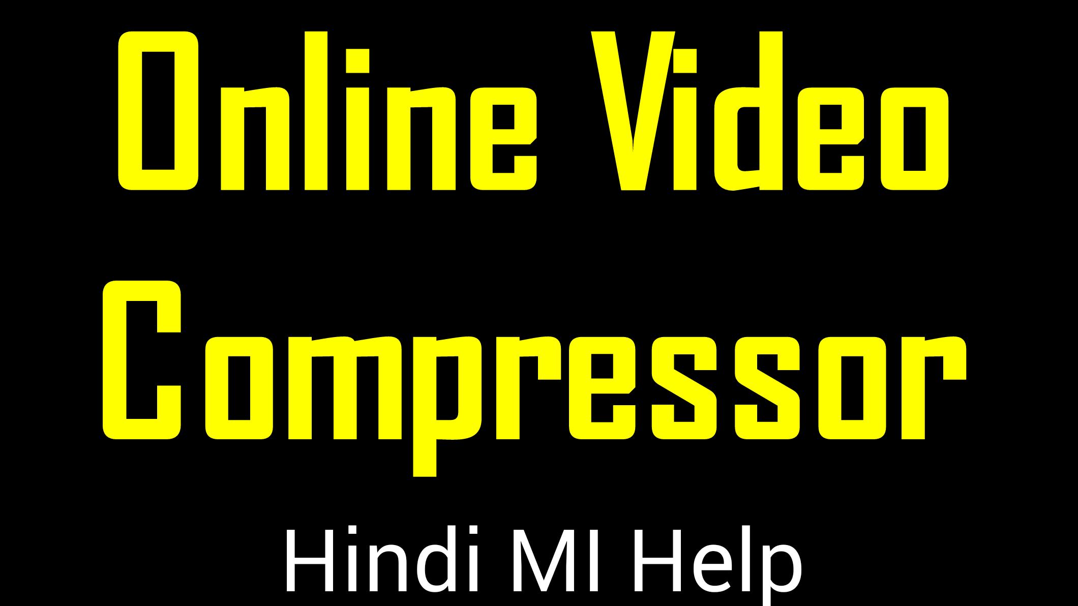 Top 10 Free Online Video Compressor    Online Video