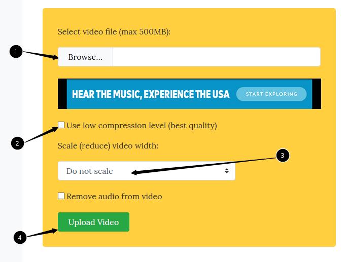 VideoSmaller - Online Video Converter