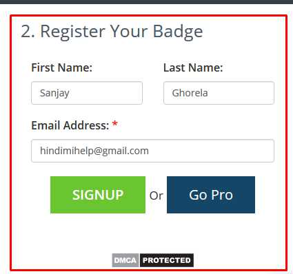 DMCA Register - Hindi Mi Help