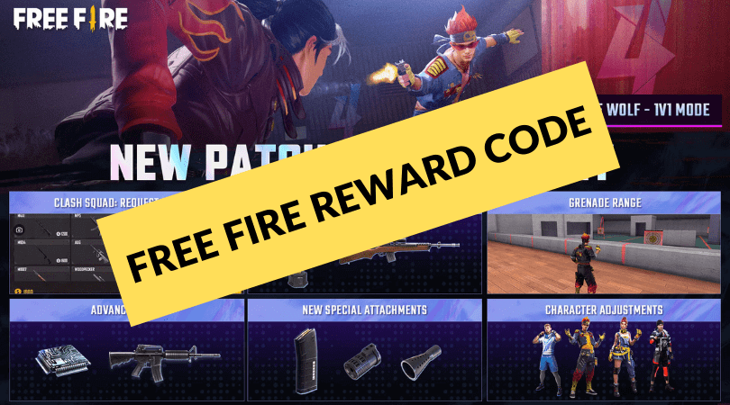 Free Fire Reward Code