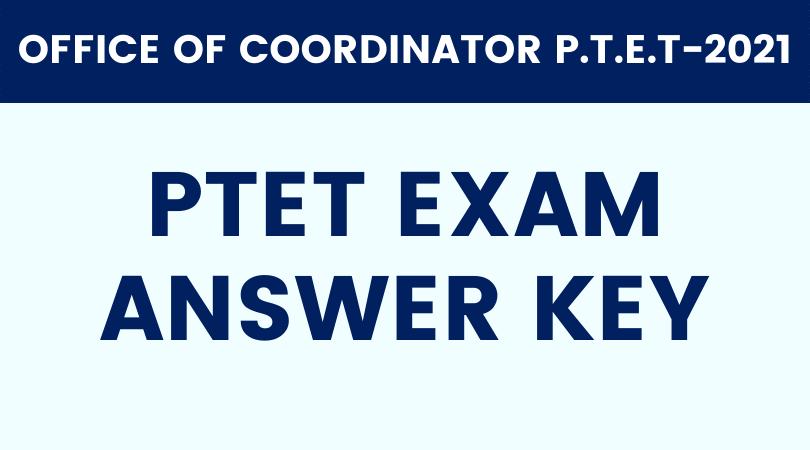 PTET-Answer-key
