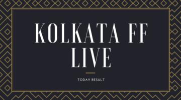 Kolkata Fatafat Result Today – FF Lottery Result 26 September 2021